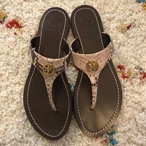 Tory Burch Cameron Thong sandals sz 8